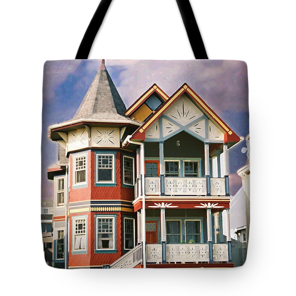 Landscape Tote Bag featuring the photograph Sisters Panel Two Of Triptych by Steve Karol