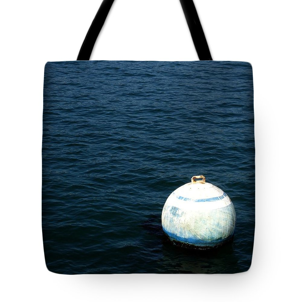 Seascape Tote Bag featuring the photograph Sit And Bounce by Shelley Jones
