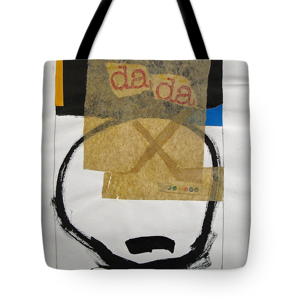 Abstract Paintings Tote Bag featuring the drawing Sketchbook 1 Pg 36 by Cliff Spohn