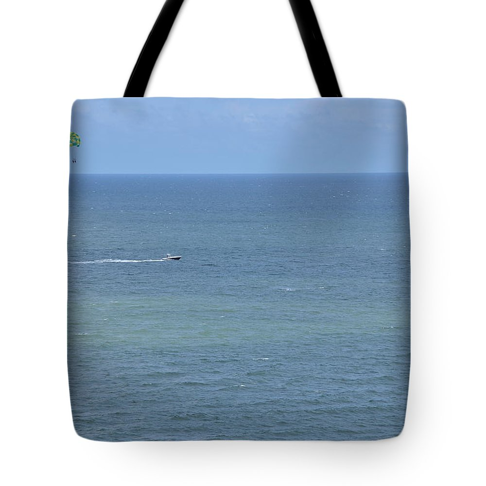 Flier Tote Bag featuring the photograph Sky Flier by Wayne Marsh