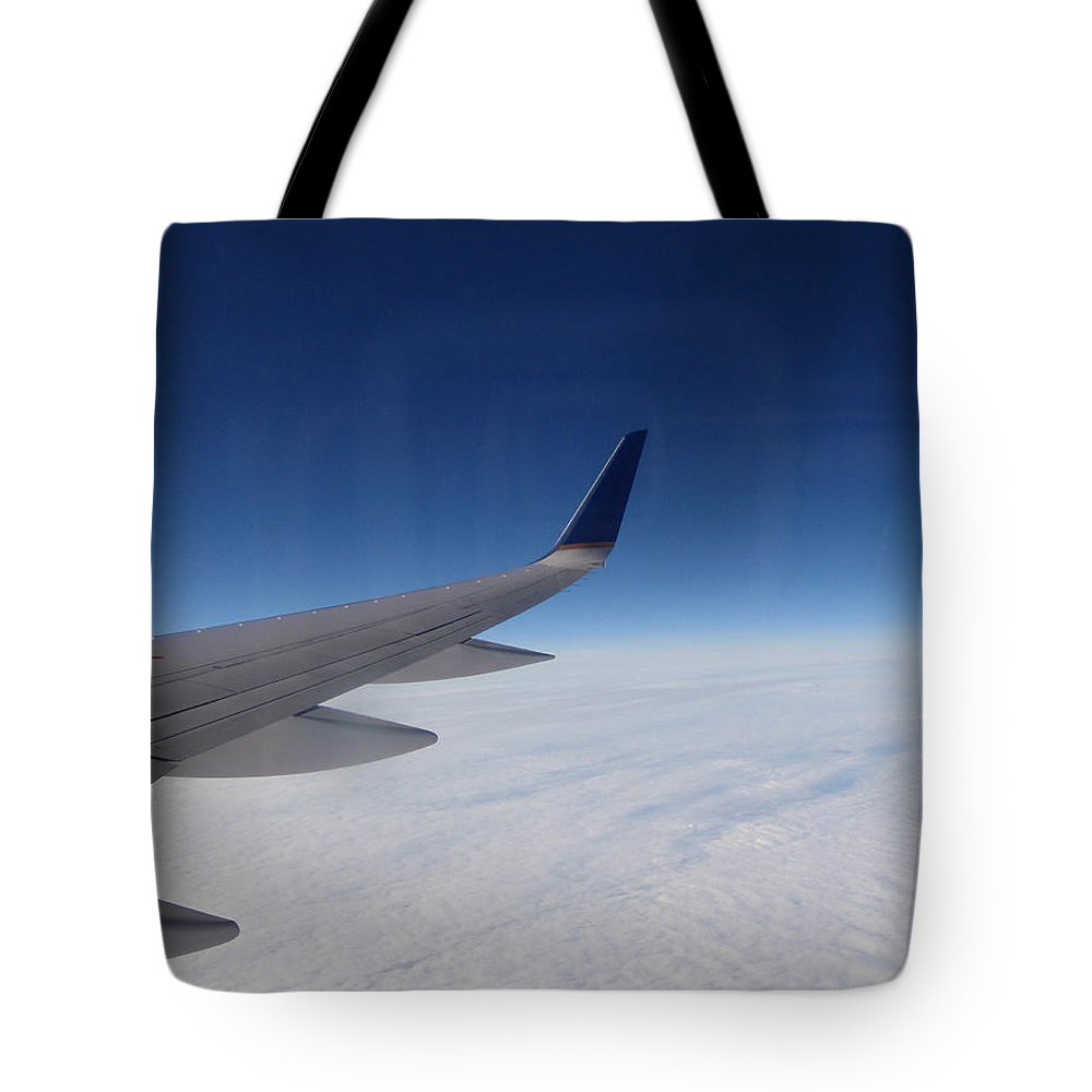 Sky Tote Bag featuring the photograph Sky Is The Limit by Are Lund