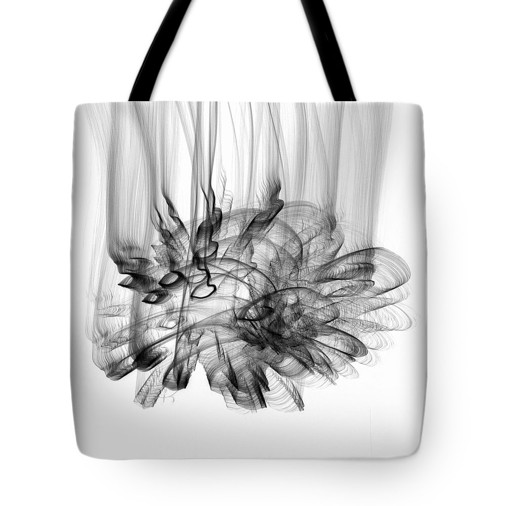 2012 Tote Bag featuring the photograph Sky Light - 610bwi by David R Mann