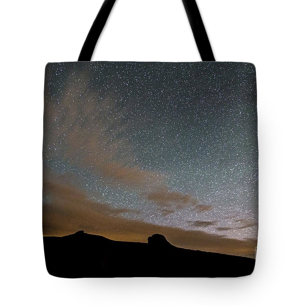 Sky Tote Bag featuring the photograph sky by Sebastien Coell