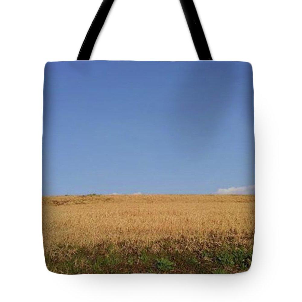 Sunnyday Tote Bag featuring the photograph Sunnyday by Kumiko Izumi
