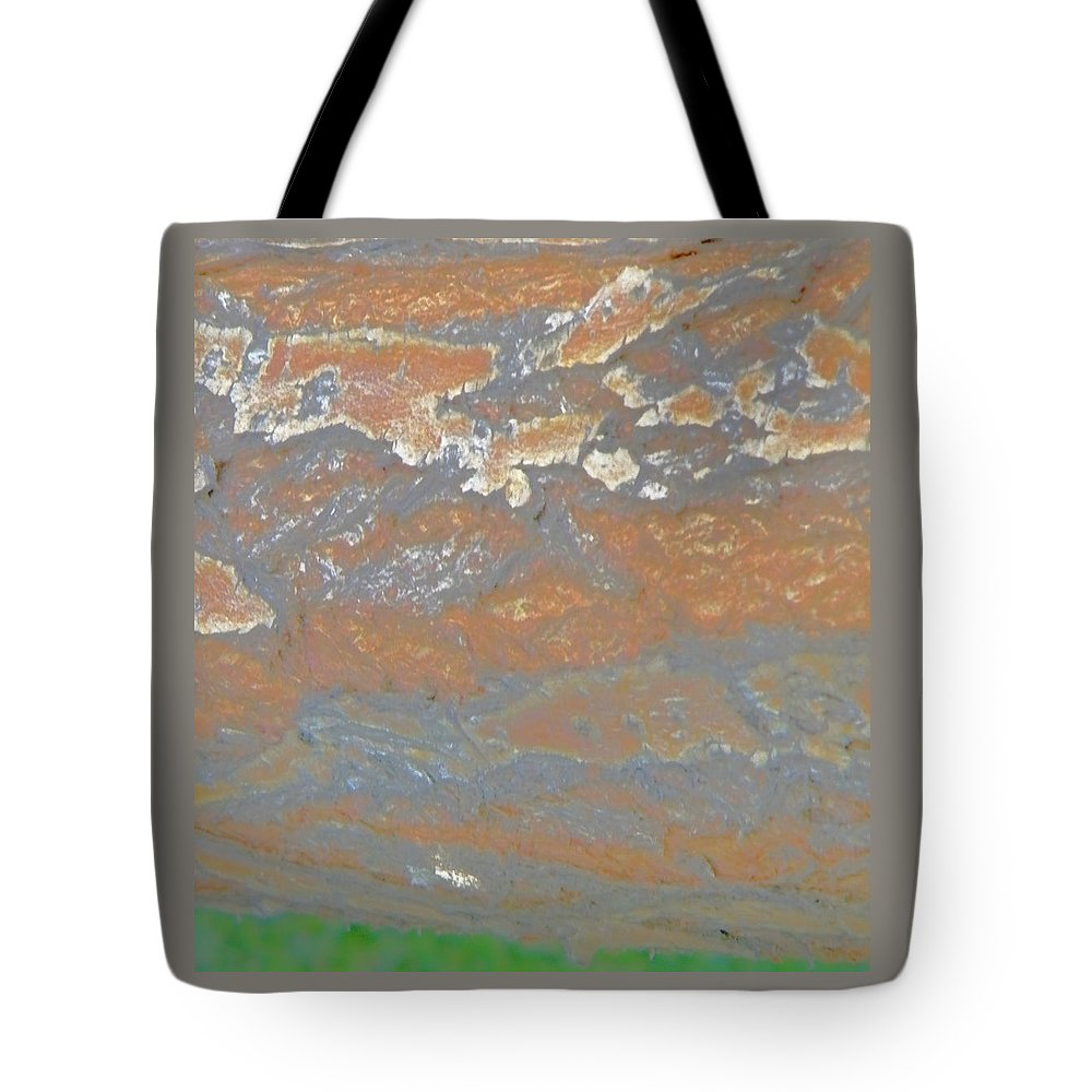 Abstract Tote Bag featuring the photograph Sky The Color Of Trees by Lenore Senior