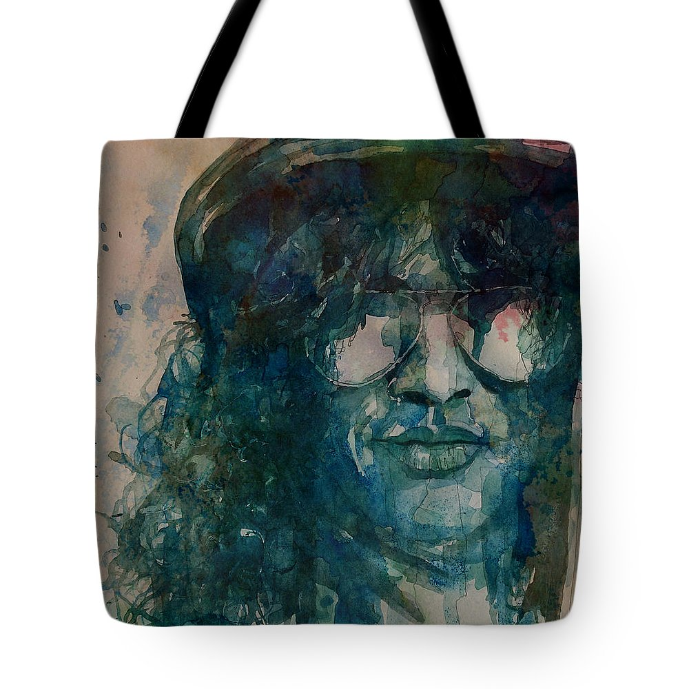 Slash Tote Bag featuring the painting Slash by Paul Lovering