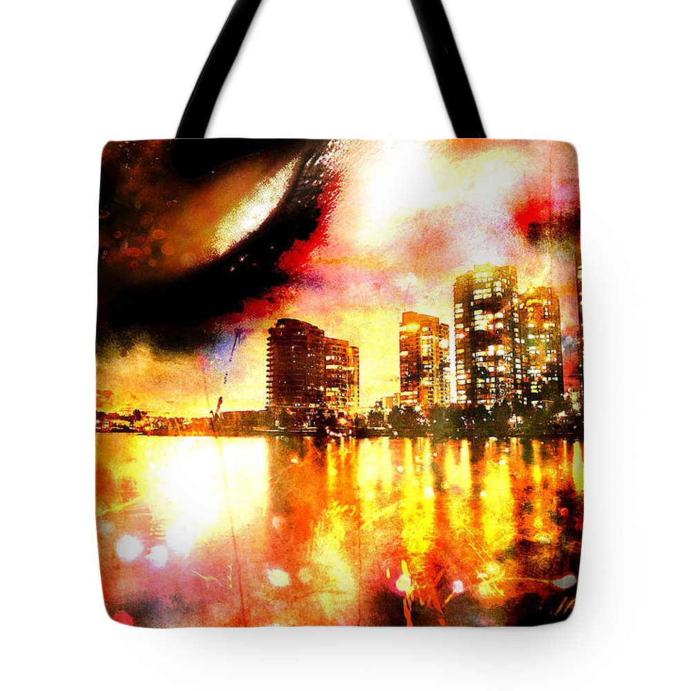 City Tote Bag featuring the photograph Sleeper by Ken Walker