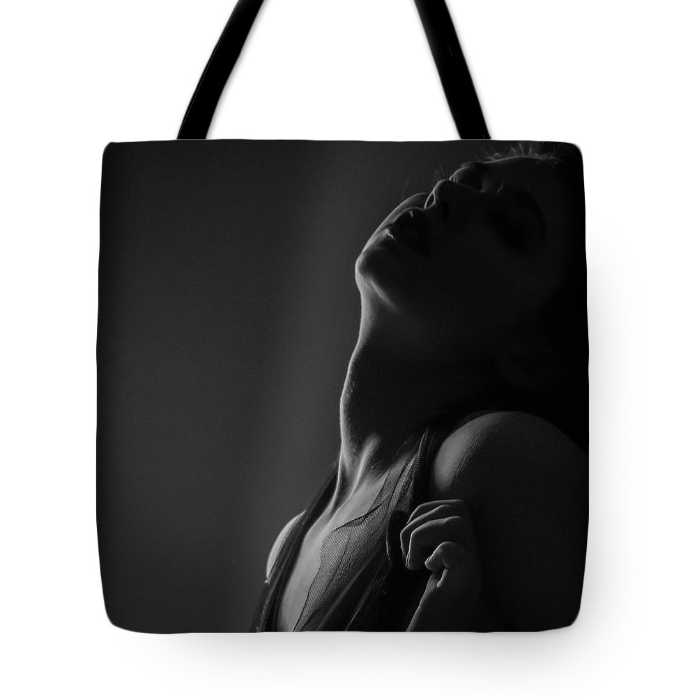 Blue Muse Fine Art Tote Bag featuring the photograph Sleepless by Blue Muse Fine Art