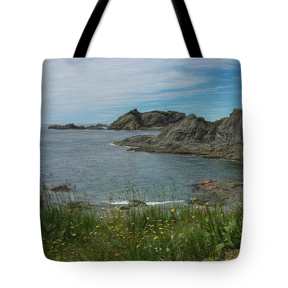 Newfoundland Tote Bag featuring the photograph Sleepy Cove by Glenn Springer
