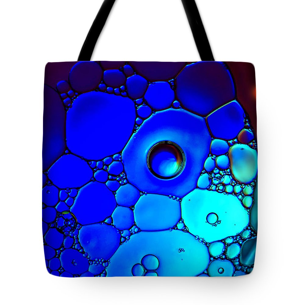 Macro Tote Bag featuring the photograph Slide Into A World by Maggie Terlecki