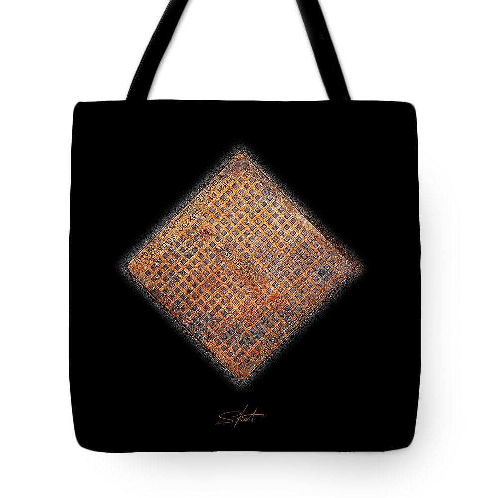 Erotic Tote Bag featuring the photograph Slide Out by Charles Stuart