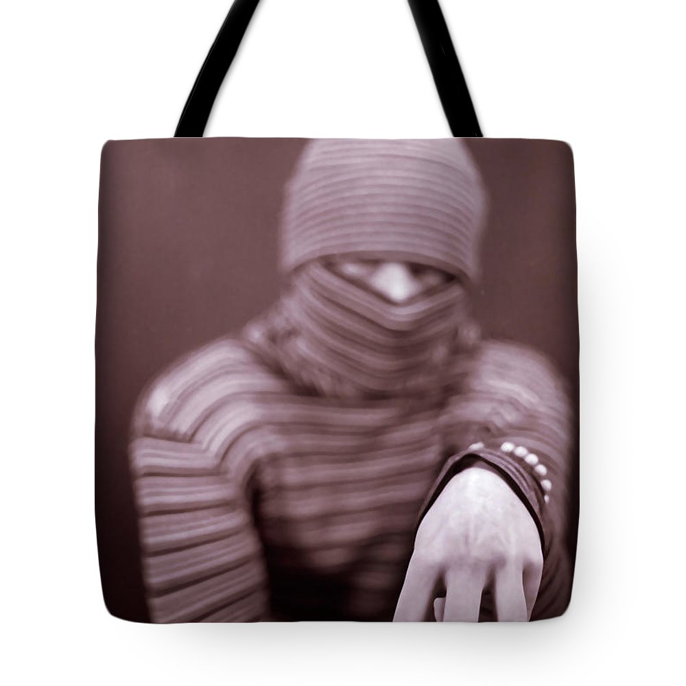 Portrait Tote Bag featuring the photograph Sly by Joshua Macneil