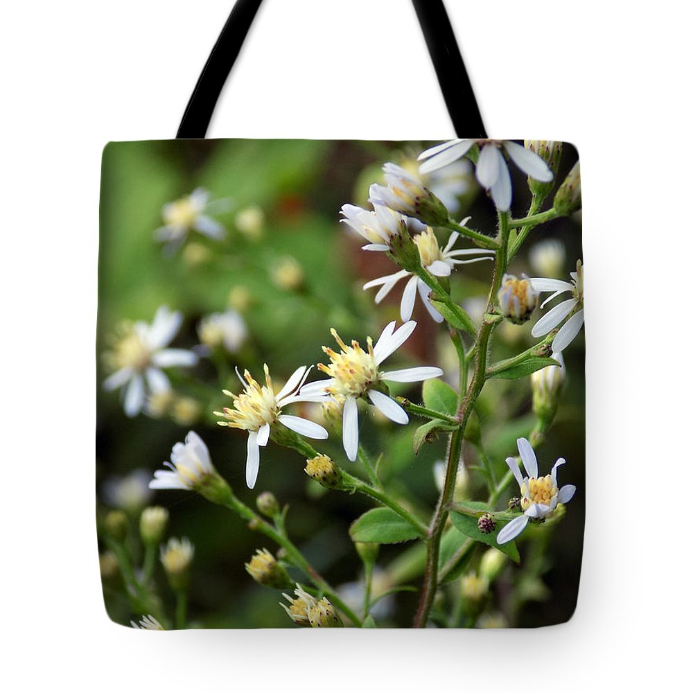 Wildflowers Tote Bag featuring the photograph Small Town Blues by William Tasker