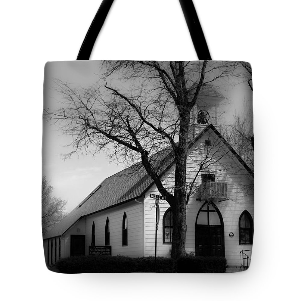 Church Tote Bag featuring the photograph Small Town Church by James BO Insogna