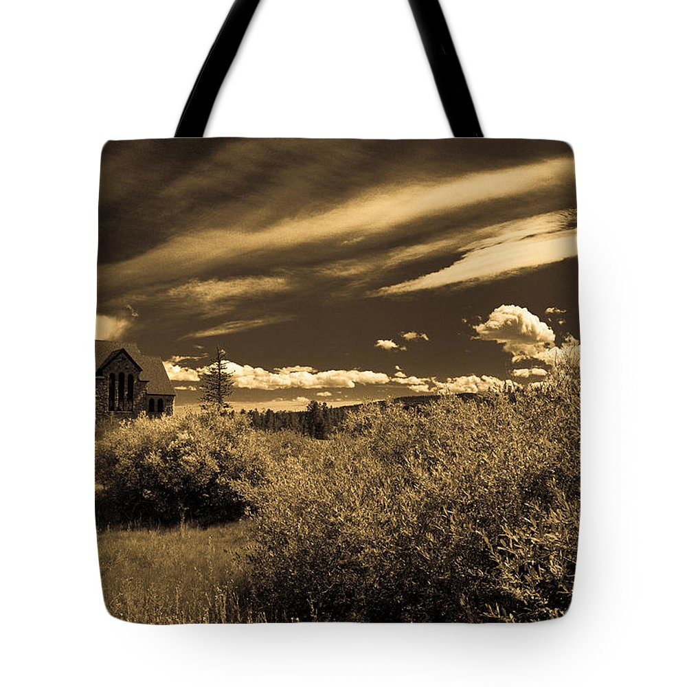 Church Tote Bag featuring the photograph Small Town Church by Marilyn Hunt