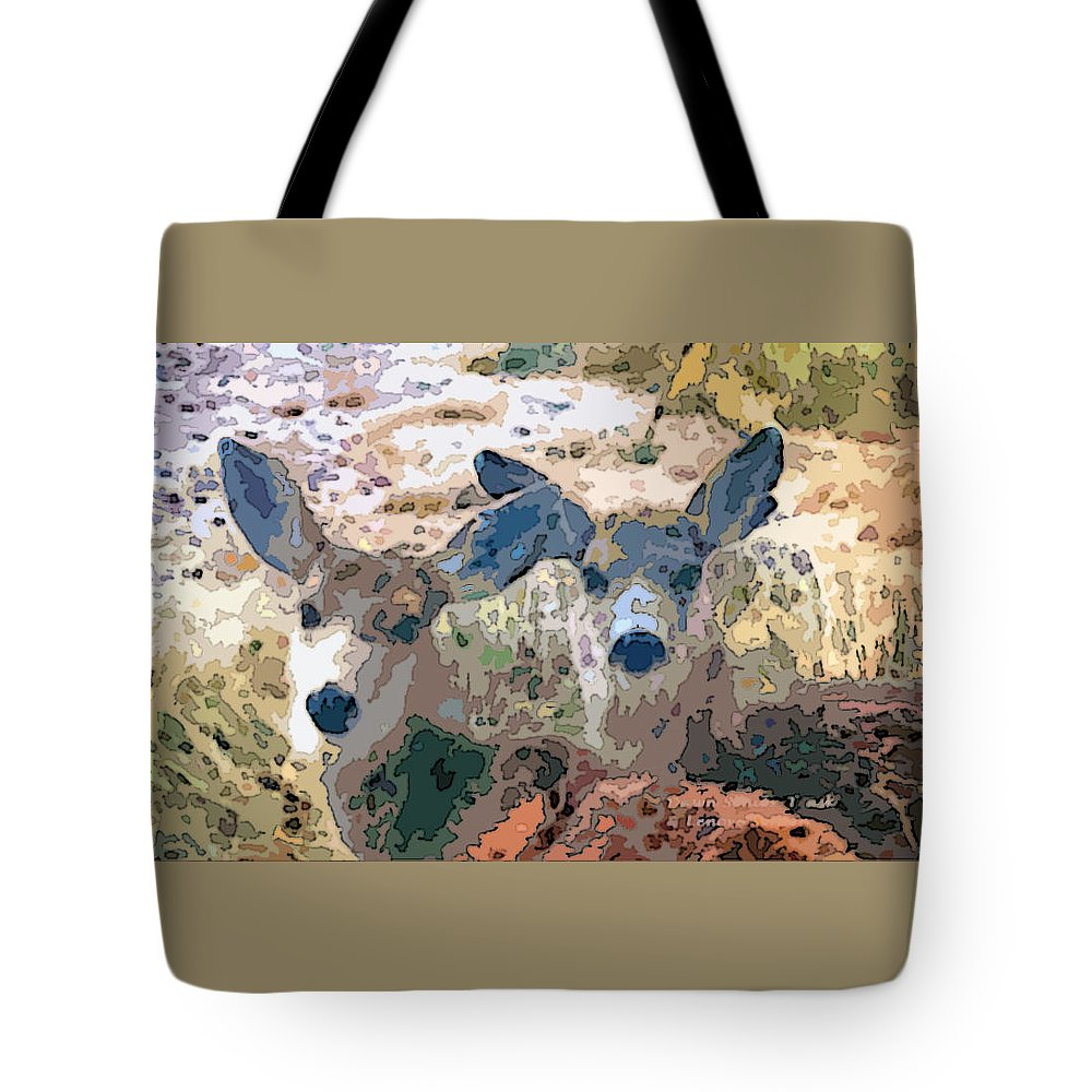 Minimal Tote Bag featuring the photograph Smidgeon And Rudi 2 by Lenore Senior