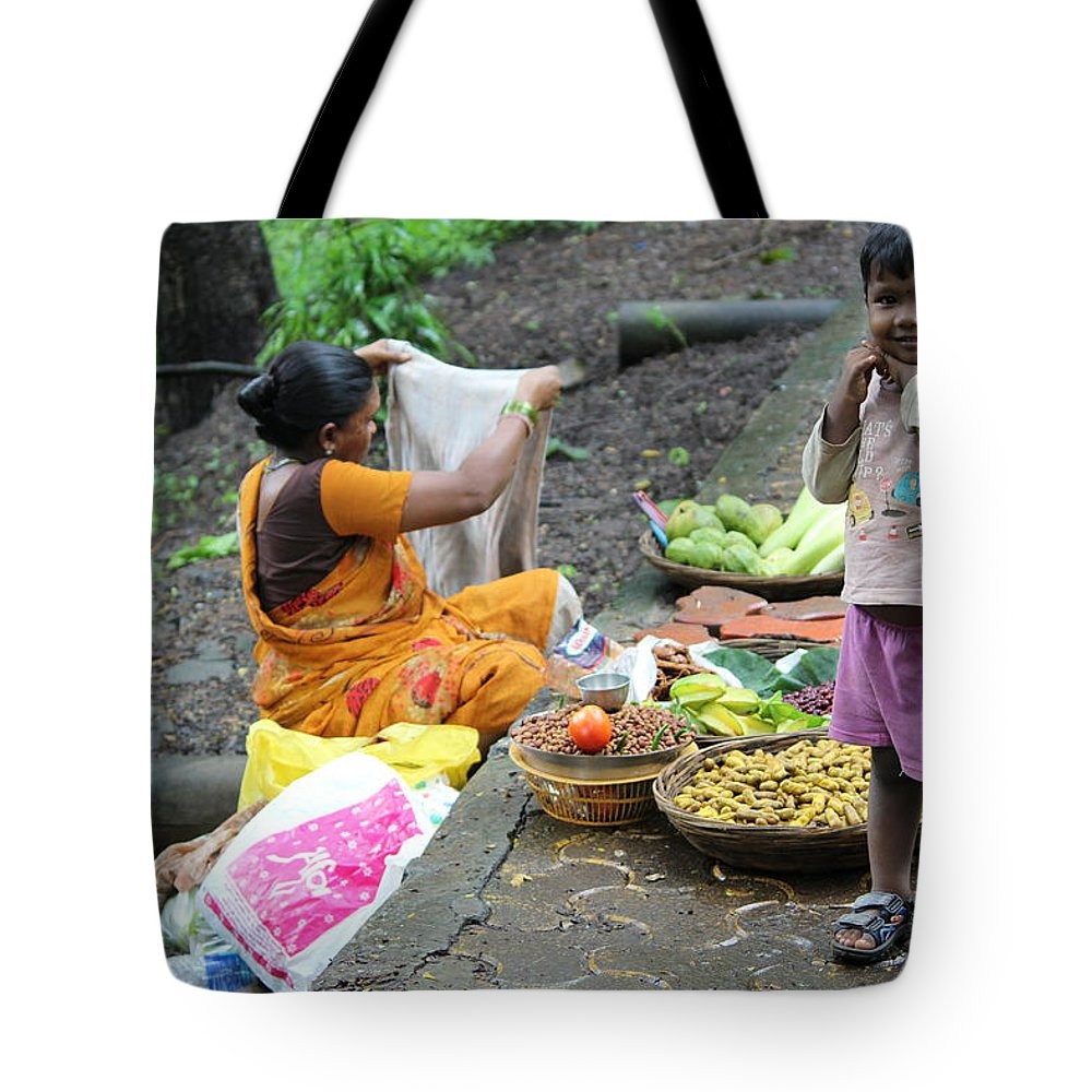 Tote Bag featuring the photograph Smile by Arnab Mukherjee