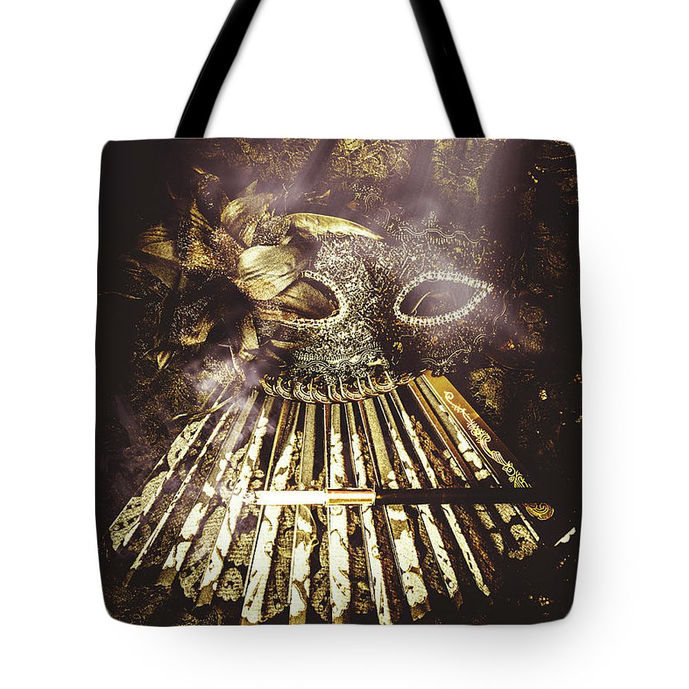 Theater Tote Bag featuring the photograph Smoke And Theatres by Jorgo Photography - Wall Art Gallery