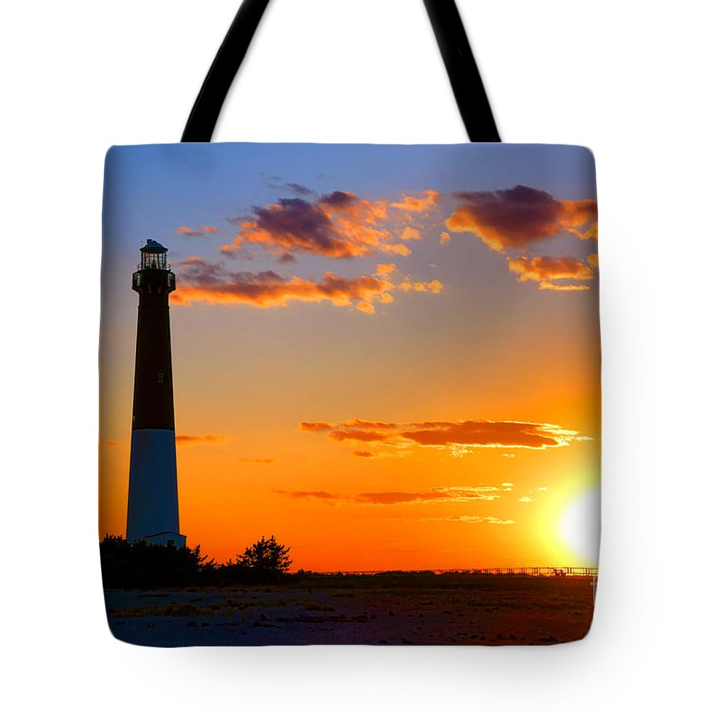 Barnegat Tote Bag featuring the photograph Smokestack Barnegat by Olivier Le Queinec