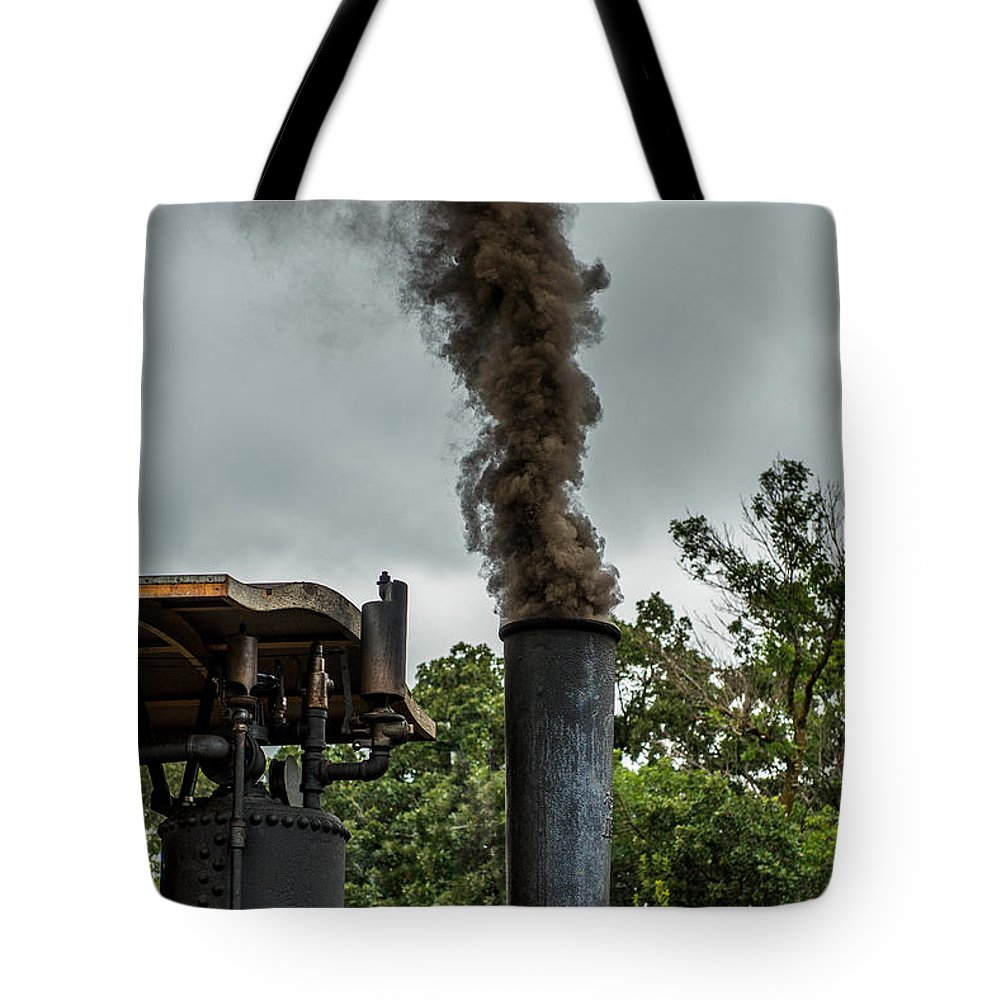 Rumley Tote Bag featuring the photograph Smokin by Paul Freidlund