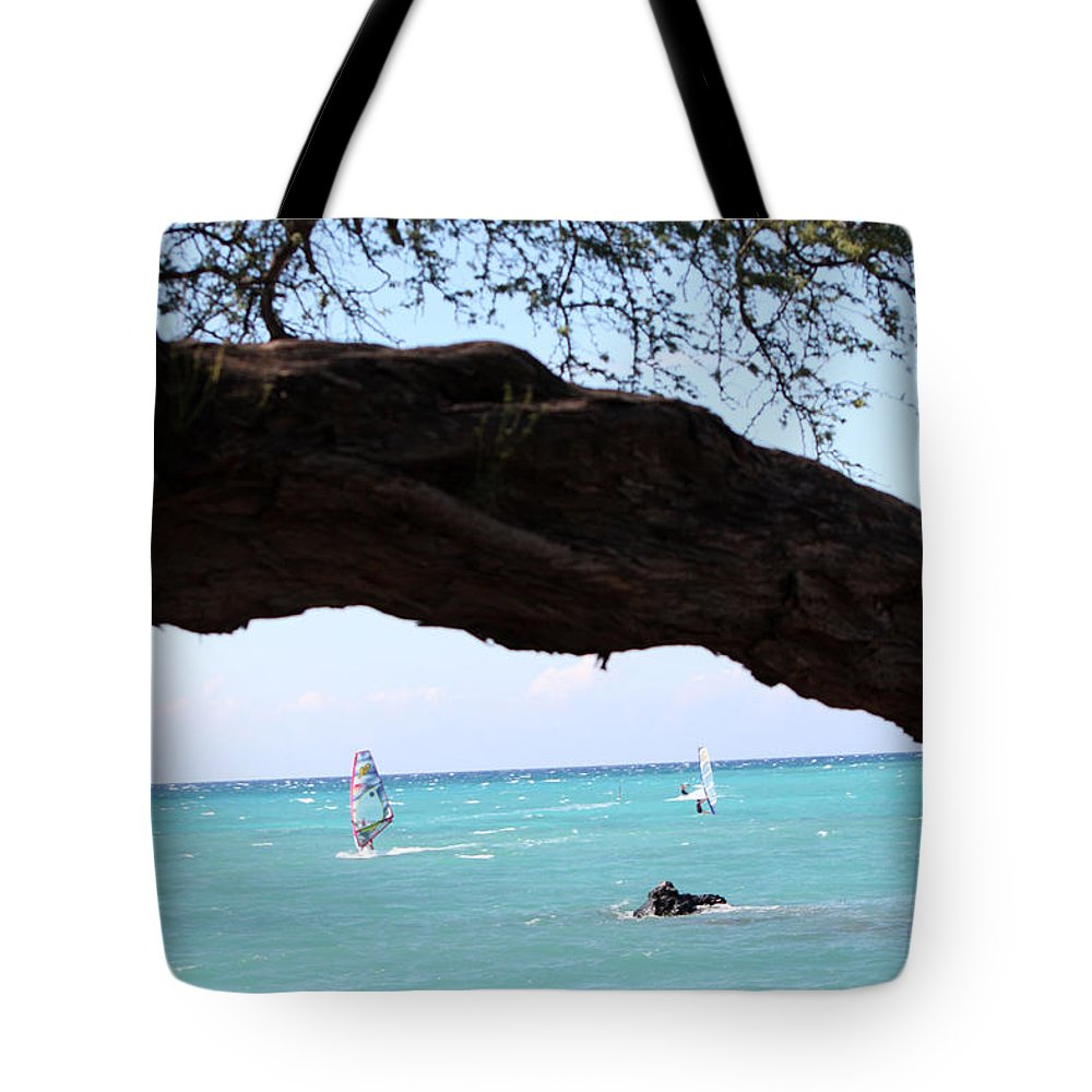 Sailing Tote Bag featuring the photograph Smooth Sailing by Karen Nicholson