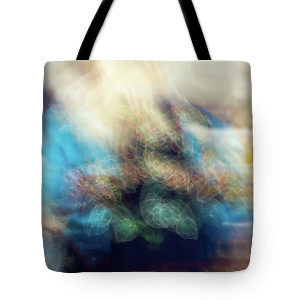 Pow Wow Tote Bag featuring the photograph Smudge 244 by M Bubba Blume