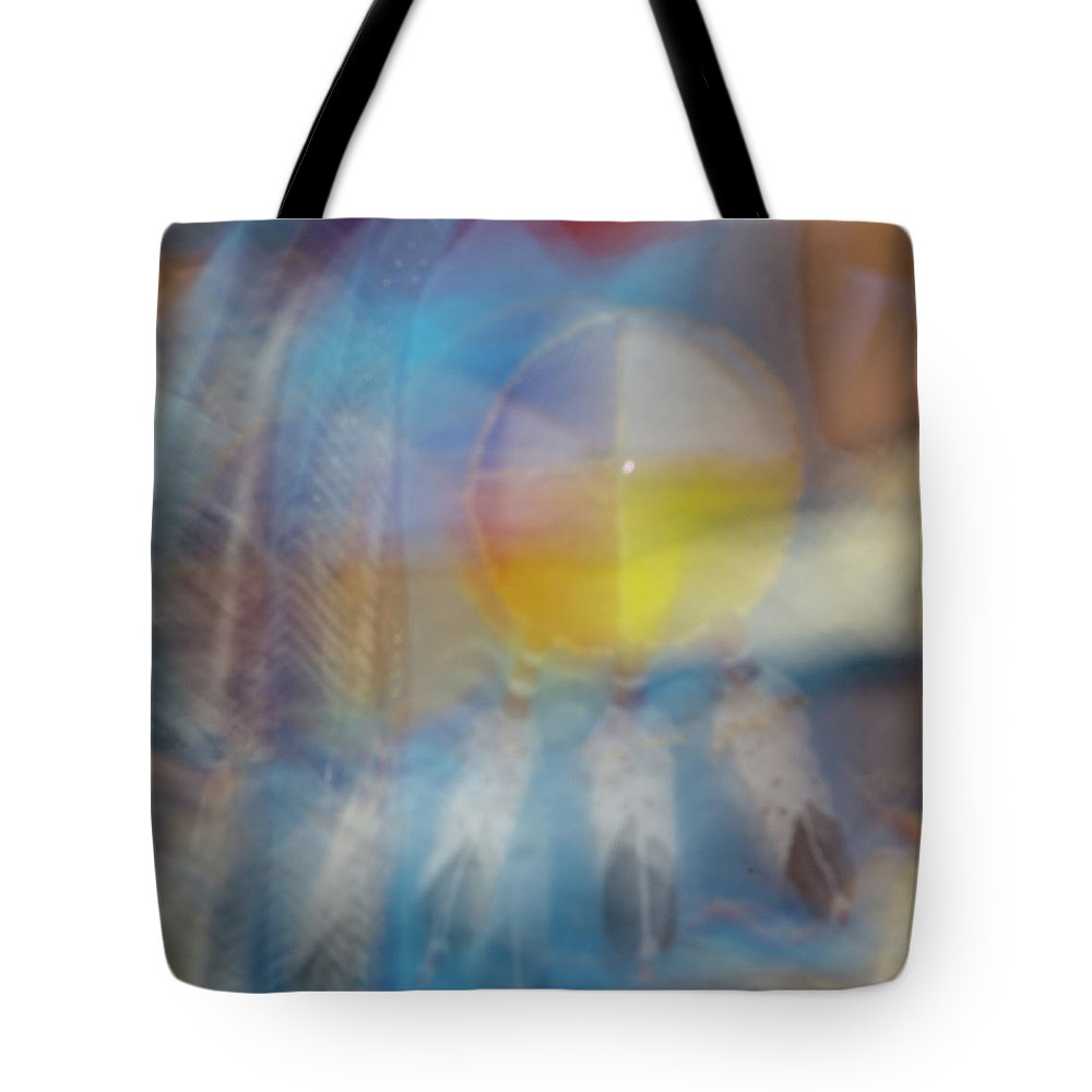 Pow Wow Tote Bag featuring the photograph Smudge 248 by M Bubba Blume