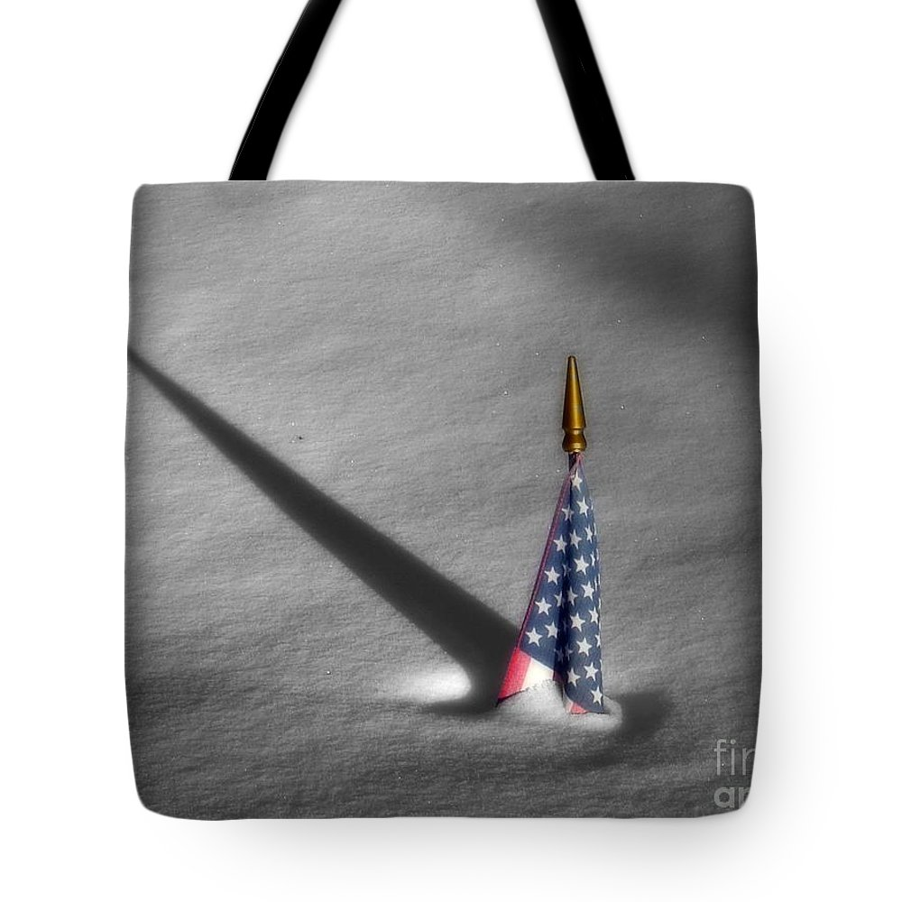 Snow Tote Bag featuring the photograph Snow Bound by Rick Monyahan