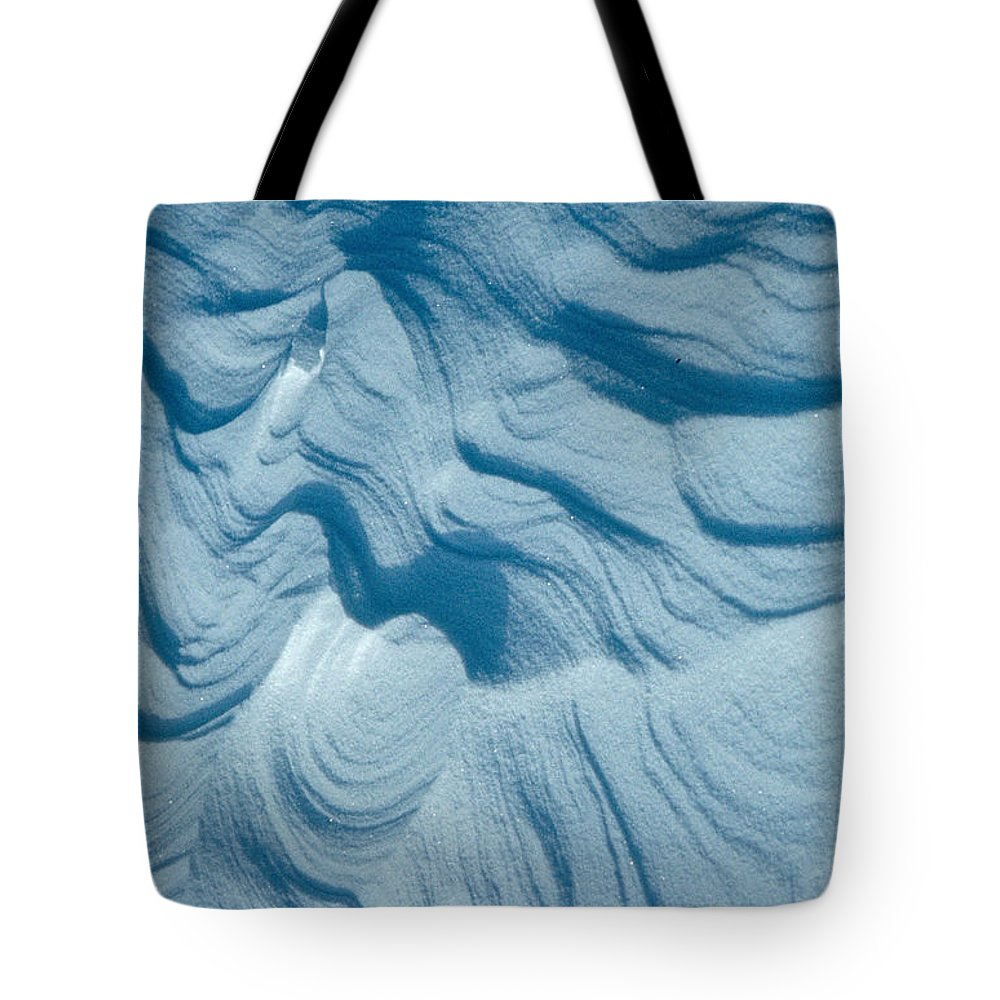 Snow Tote Bag featuring the photograph Snow by Flavia Westerwelle