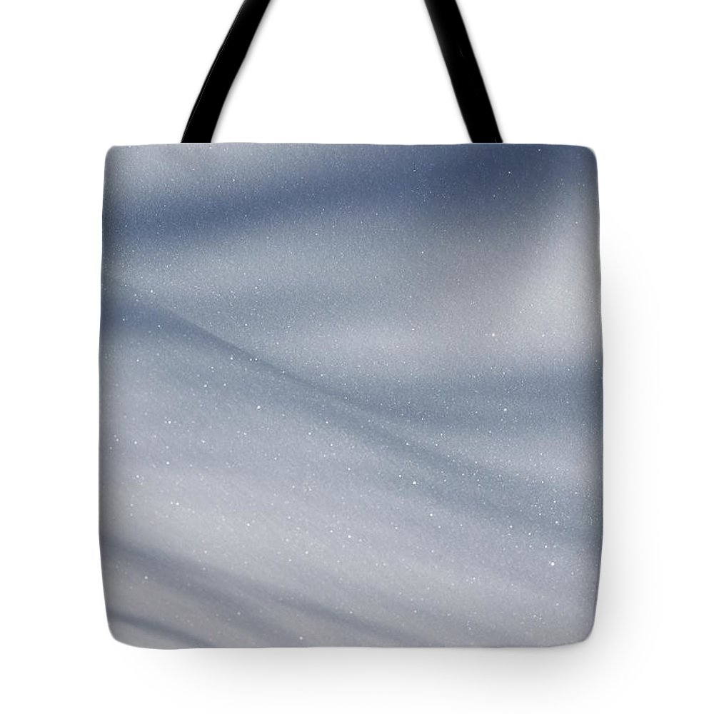 Snow Tote Bag featuring the photograph Snowy Shadows 2 by Lauri Novak