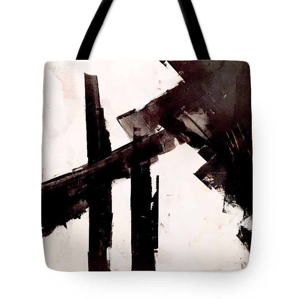 Tote Bag featuring the painting So Long To Yesterday by Suzzanna Frank
