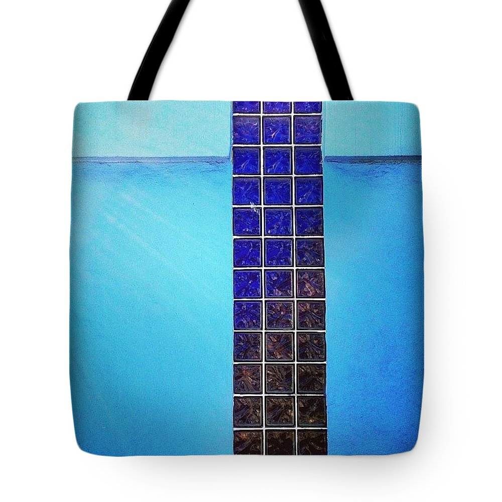Instaminim Tote Bag featuring the photograph So Many Squares by Julie Gebhardt