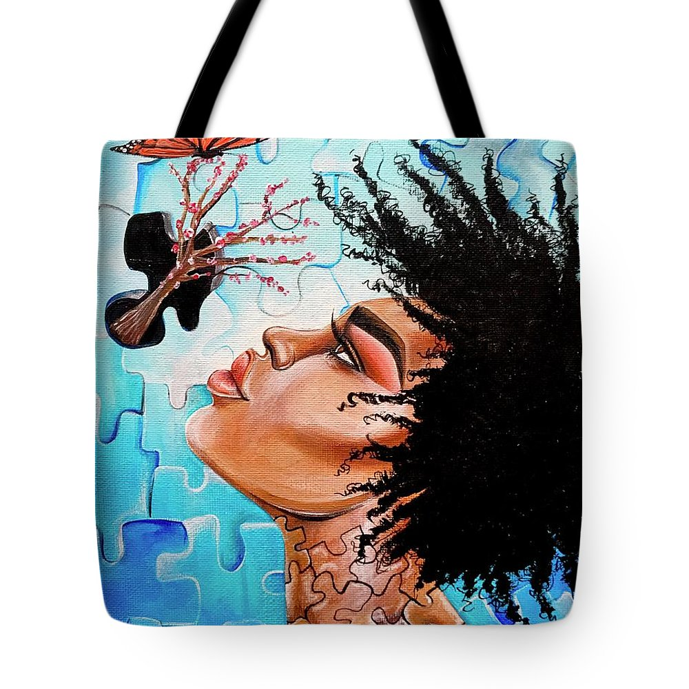 Butterfly Tote Bag featuring the photograph So Much more to me that you just cant See by Artist RiA