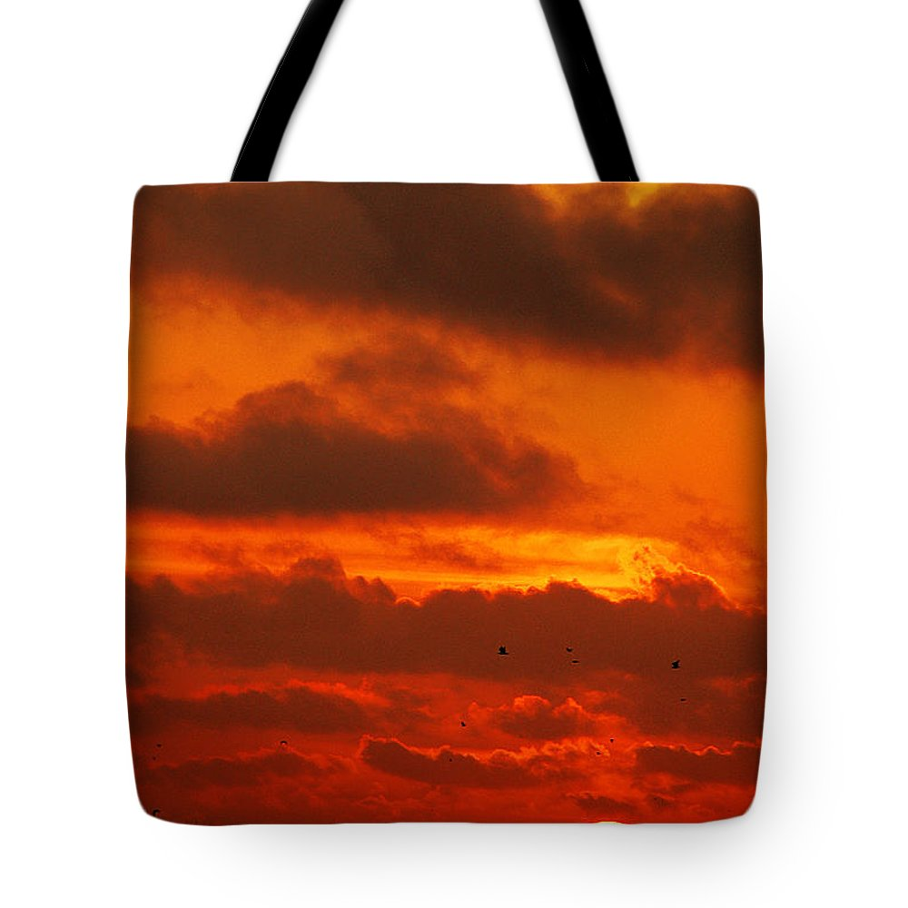 Clay Tote Bag featuring the photograph Socal Sunset by Clayton Bruster