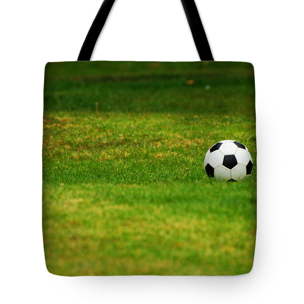 Soccer Tote Bag featuring the photograph Soccer Season by Jean Booth