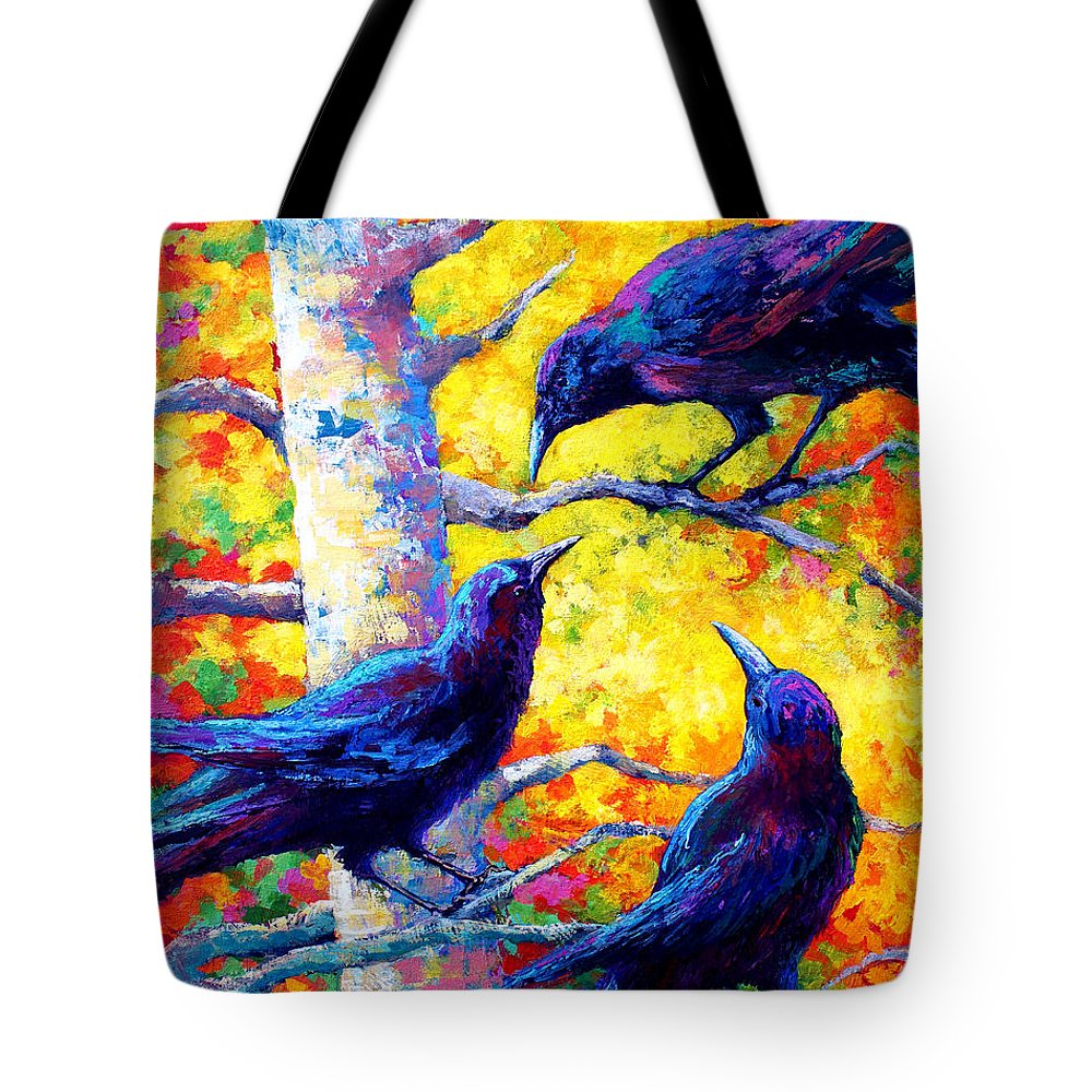 Paintings Tote Bag featuring the painting Social Cub I by Marion Rose