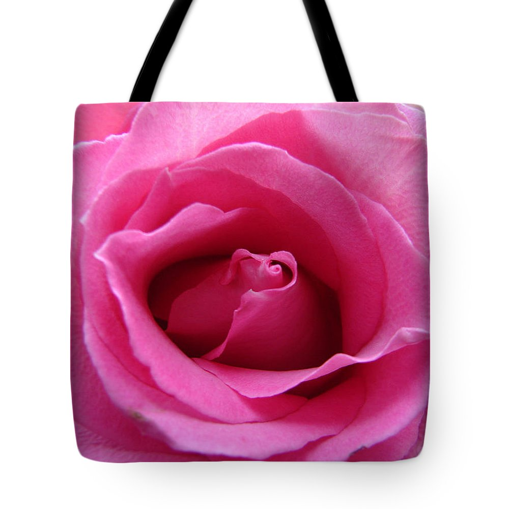 Rose Pink Pedals Tote Bag featuring the photograph Soft And Pink by Luciana Seymour