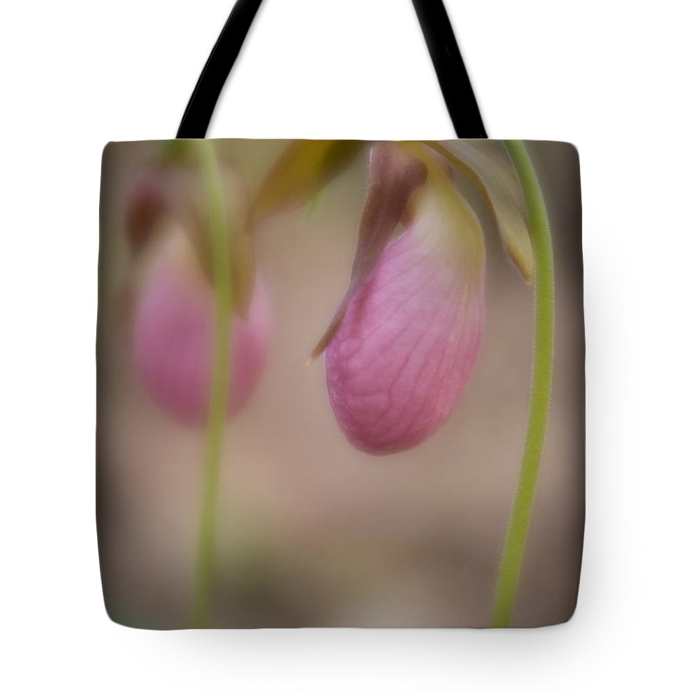 Spring Tote Bag featuring the photograph Soft Slipper by Joye Ardyn Durham
