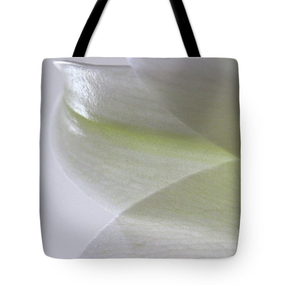 Flower Tote Bag featuring the photograph Softly by Karen Adams