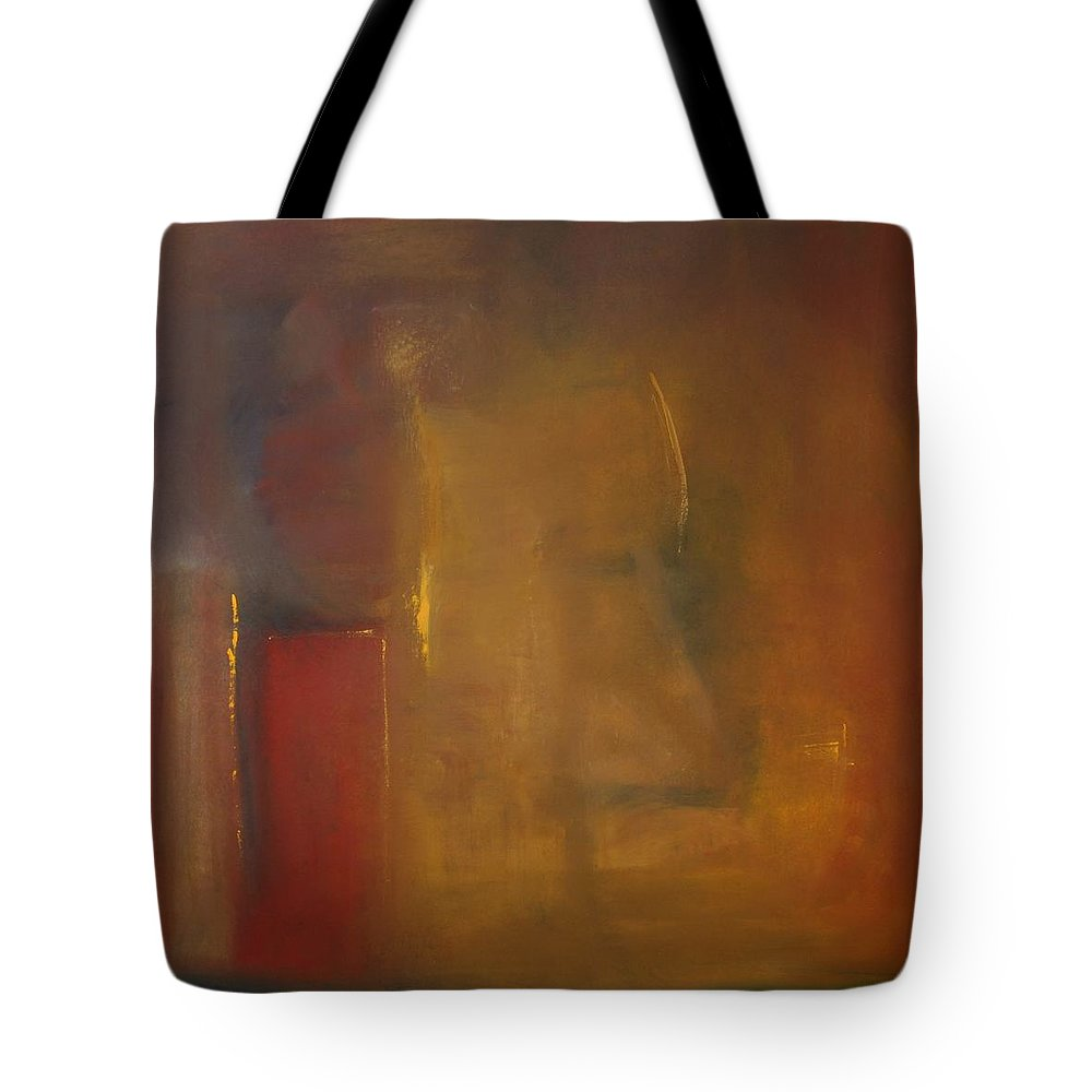 Tote Bag featuring the painting Softly Reflecting by Jack Diamond