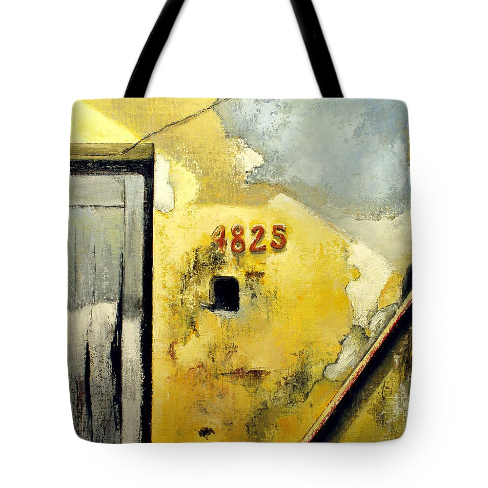 Havana Tote Bag featuring the painting Solana by Tomas Castano