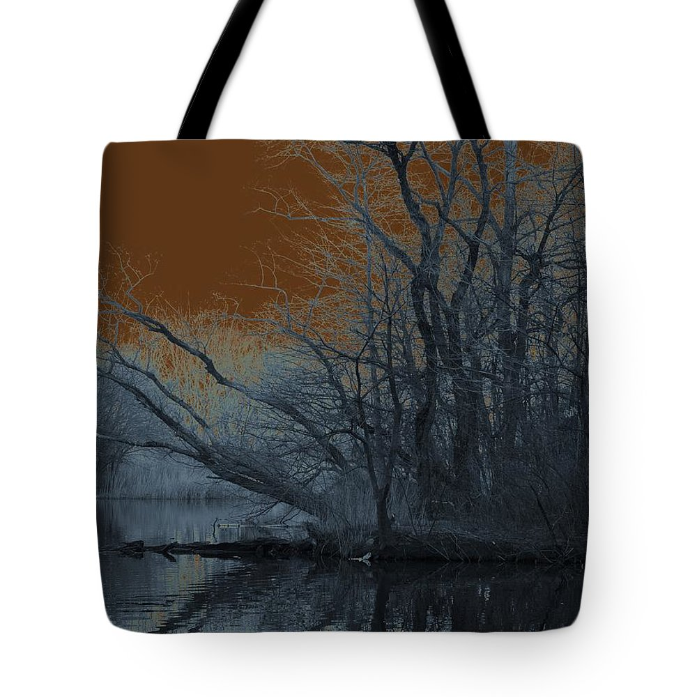 Solarization Tote Bag featuring the photograph Solarization by Kendall Eutemey