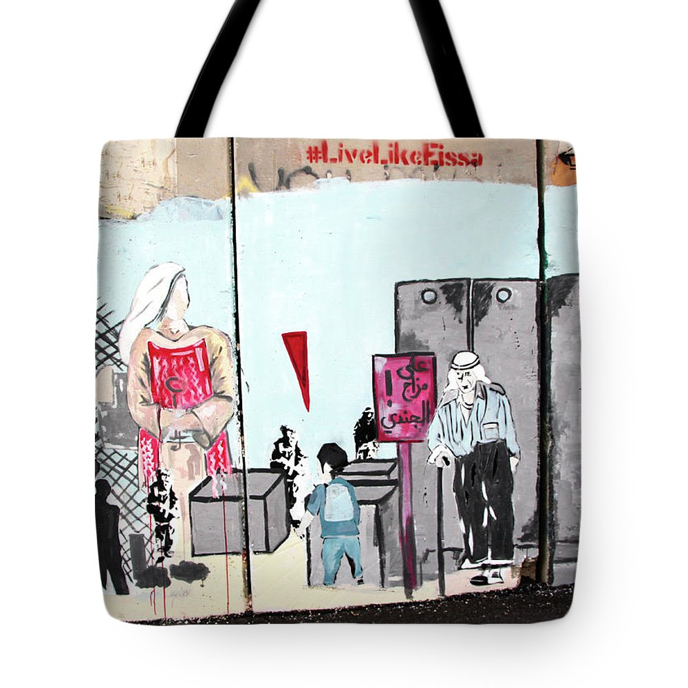 Mood Tote Bag featuring the photograph Soldier Mood by Munir Alawi
