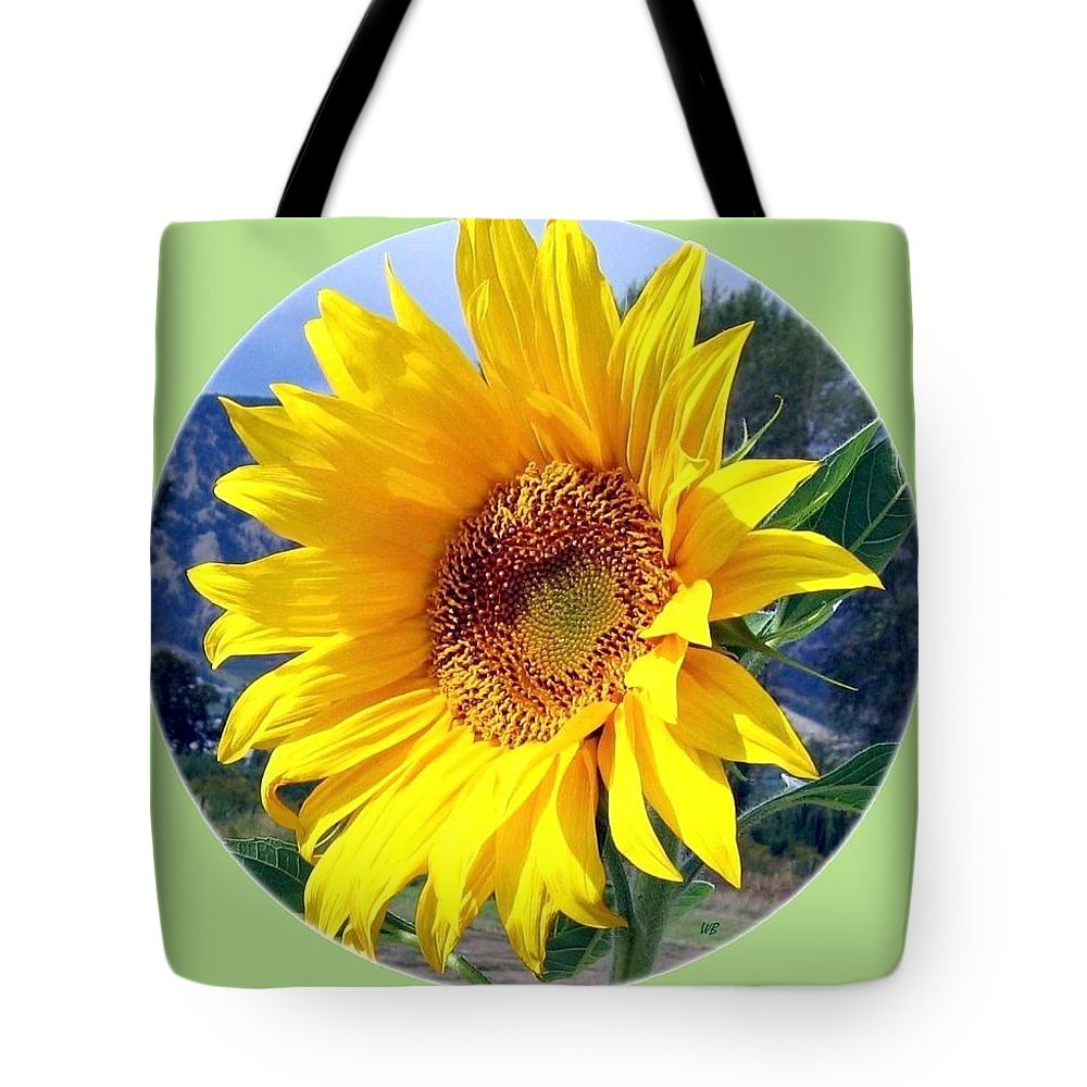 Sunflower Tote Bag featuring the photograph Solid Sunshine by Will Borden