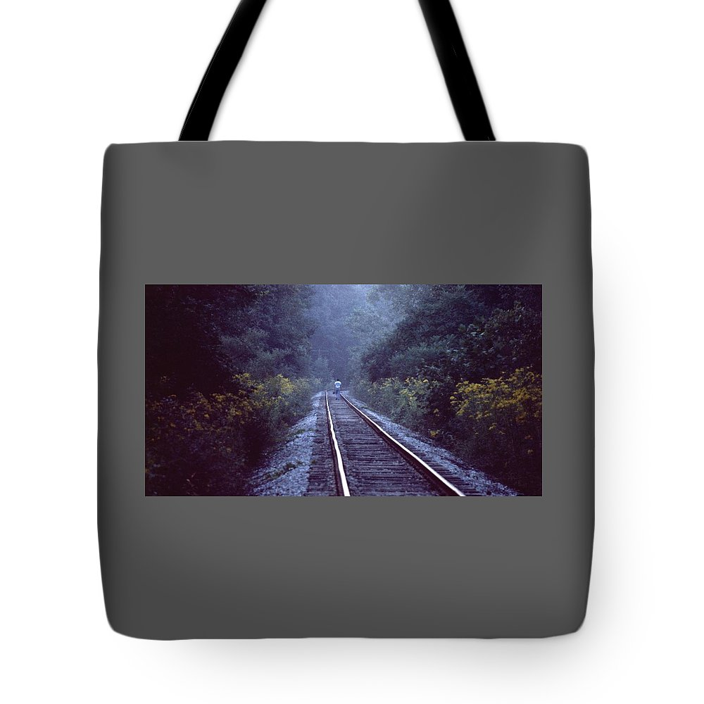 Walking Tote Bag featuring the photograph Solitude 031307-66 by Mike Davis