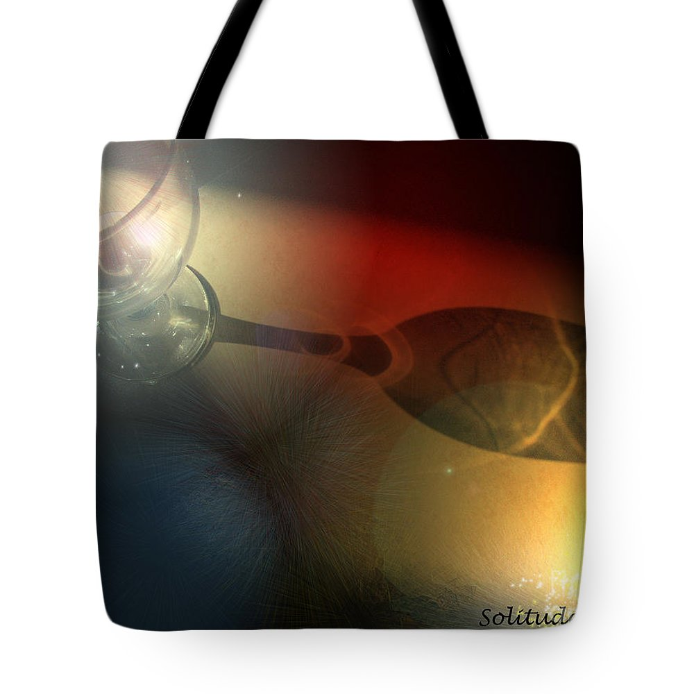 Fantasy Tote Bag featuring the photograph Solitude A Deux by Miki De Goodaboom