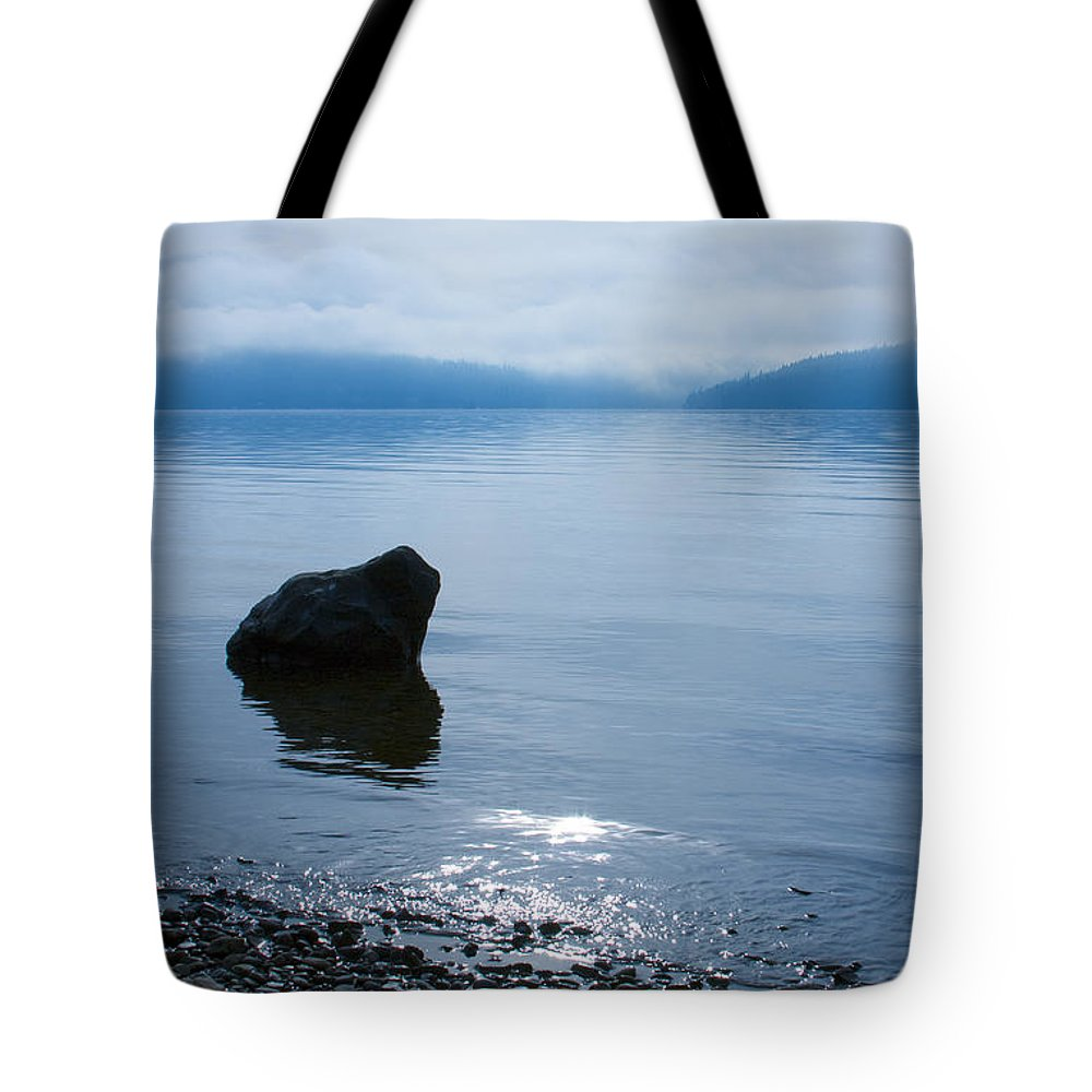 Alone Tote Bag featuring the photograph Solitude by Idaho Scenic Images Linda Lantzy