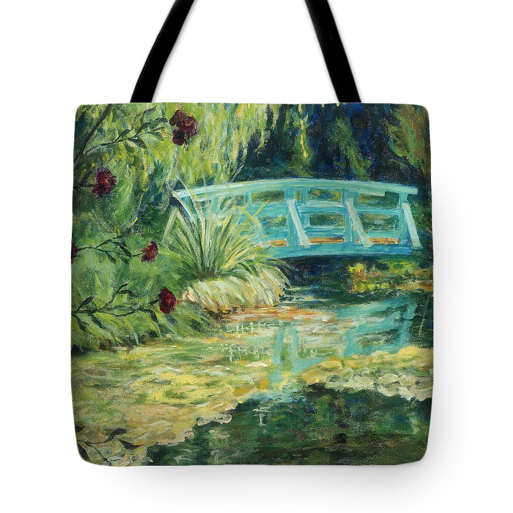 Impressionism Tote Bag featuring the painting Solitude by Tara Moorman