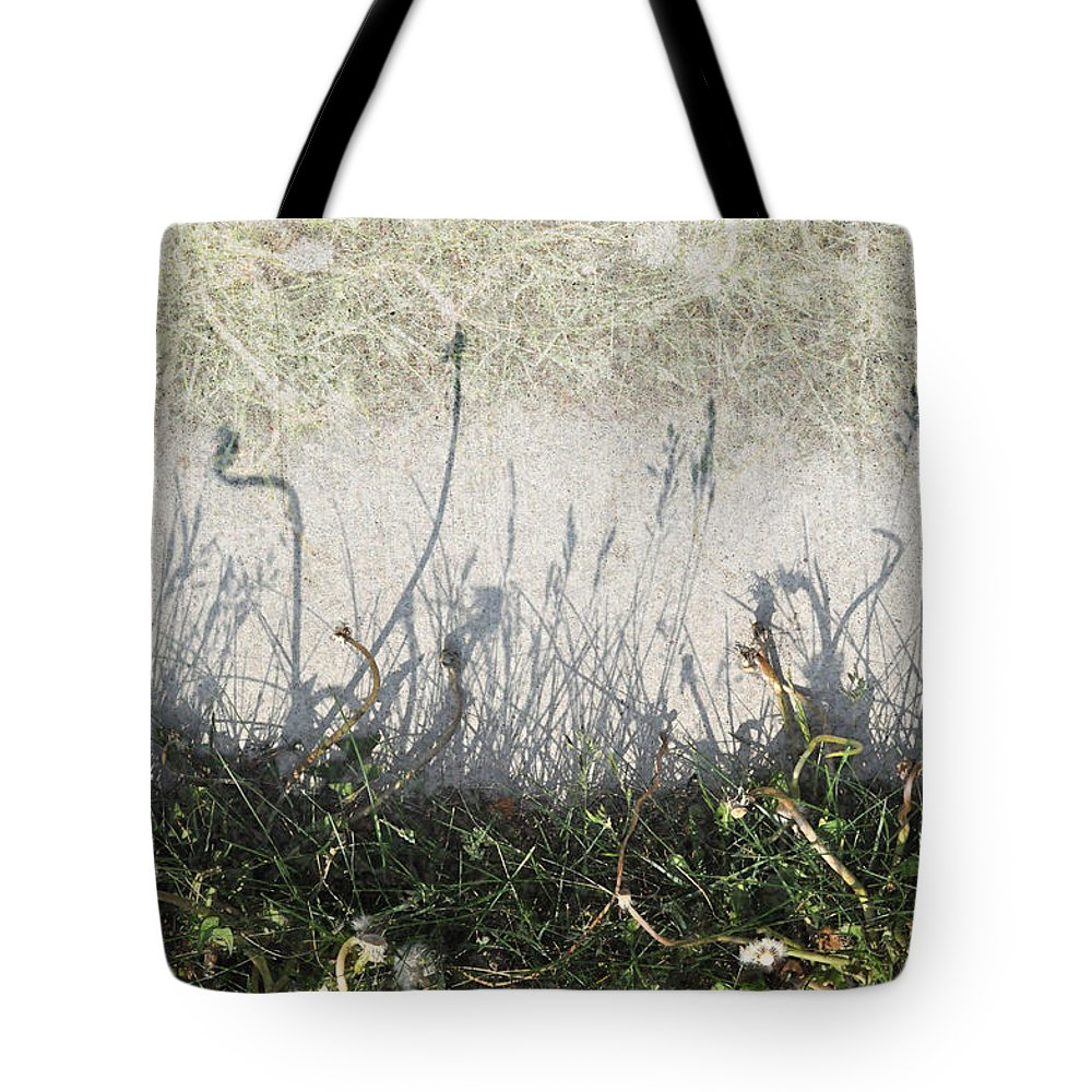 Weeds Tote Bag featuring the photograph Some Peoples Weeds by Tim Nyberg
