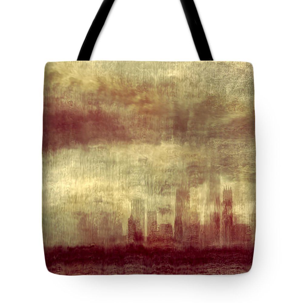 Clouds Tote Bag featuring the photograph Someone To Hold You Beneath Darkened Sky by Dana DiPasquale